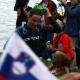 Andi Raelert als Dritter aus dem Wasser - so viel zum Thema