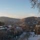 Blick von der Sparrenburg auf den Johannisberg