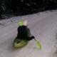 Snow-Kajak bei Olderdissen