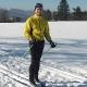 Skiläufer auf der Kahlen Pön