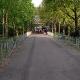 7:45 Uhr Start - die Promenade an der Sparrenburg noch leer