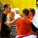 und nach 20 Minuten auch das letzte Interview erledigt..., Foto: Ralf Reinert