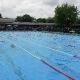 Schwimmen im Freibad Harsewinkel