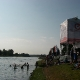 Probeschwimmen im Main-Donau-Kanal