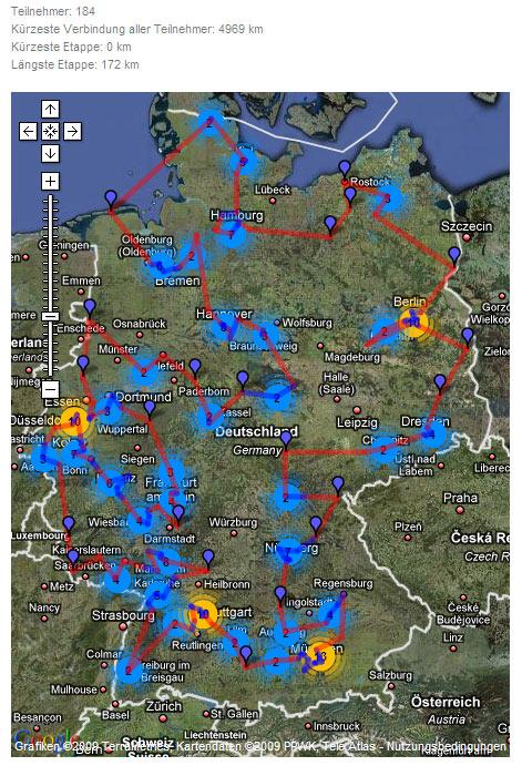 So sähe die Laufstrecke momentan aus (Quelle: www.blogathlon.de)