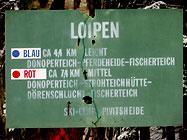 Loipeninfos: Skilanglauf in Bielefeld, OWL, Teutoburger Wald